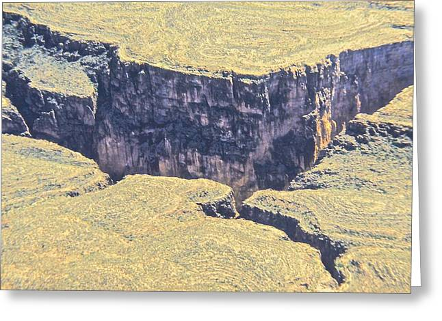 Above The Canyon Top   Greeting Card by Jim Ellis