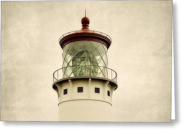Top Of The Lighthouse Greeting Card by Scott Pellegrin