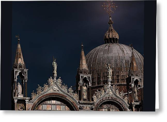 Top Of The Mark-venice Greeting Card by Tom Prendergast