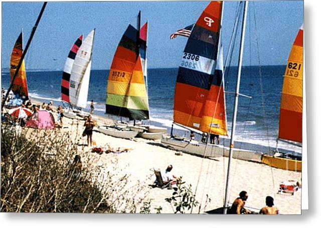 Topanga South Yacht Club Malibu Greeting Card