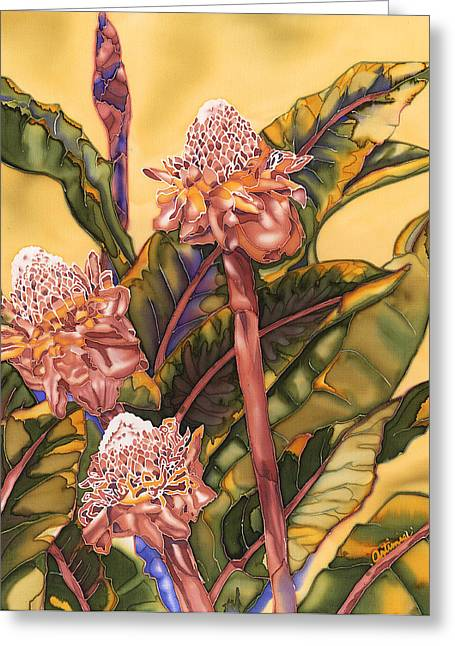 Torch Ginger Greeting Card