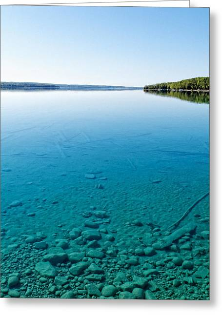 Torch Lake Greeting Card