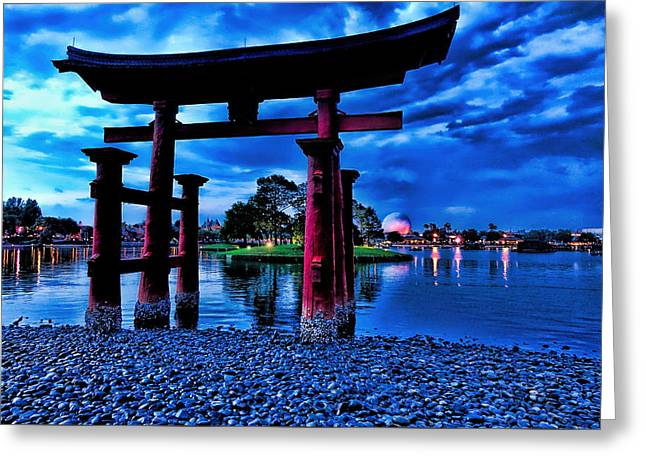 Torii Gate 2 Greeting Card