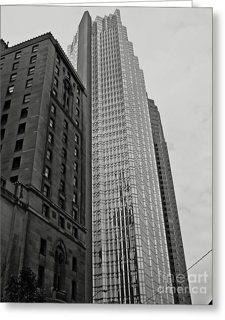 Greeting Card featuring the photograph Toronto by Cendrine Marrouat