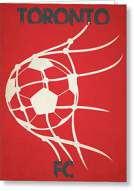 Toronto Fc Goal Greeting Card by Joe Hamilton