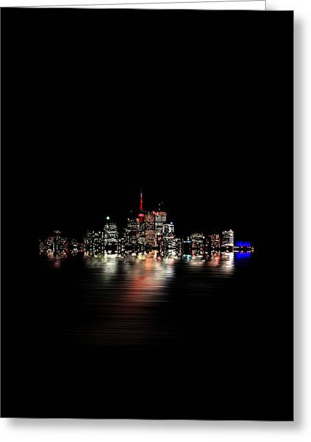 Toronto Flood No 3 My Island Greeting Card by Brian Carson