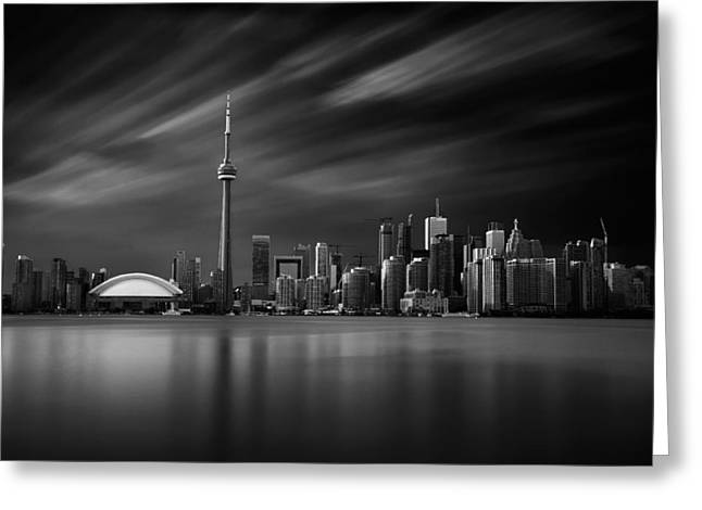 Toronto Skyline - 8 Minutes In Toronto Greeting Card
