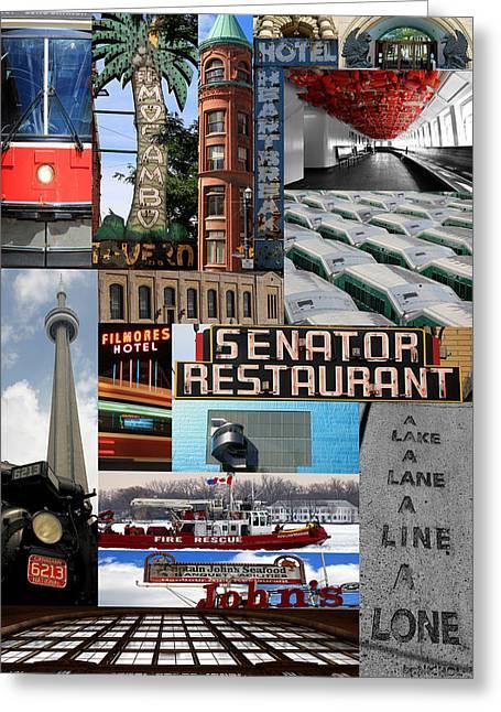 Toronto Textures 2 Greeting Card