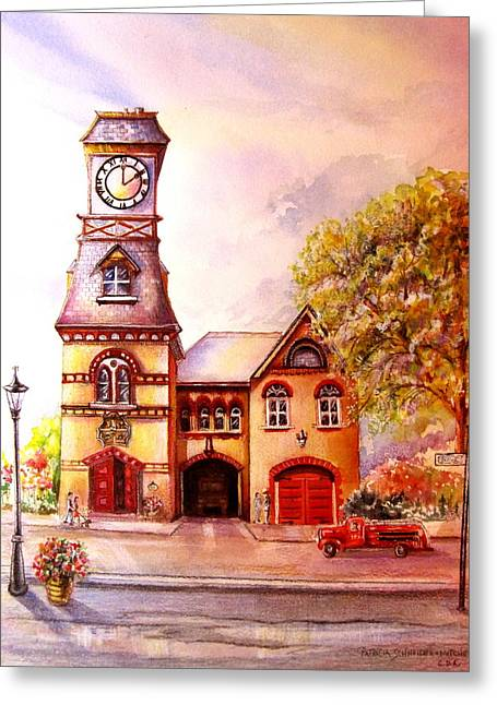 Toronto's Old Yorkville Fire Hall Greeting Card