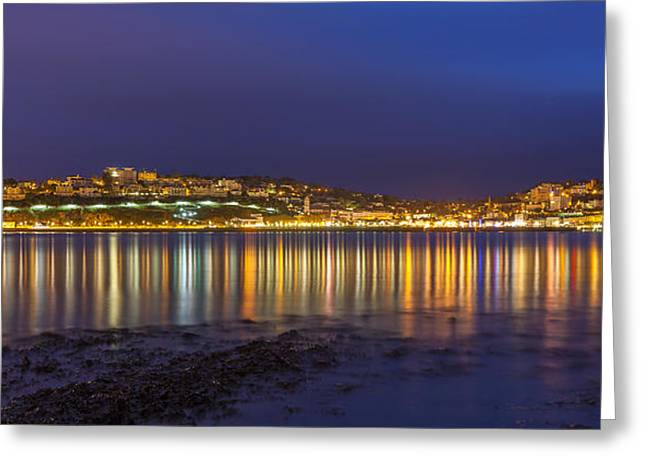 Torquay Greeting Card by Sebastian Wasek