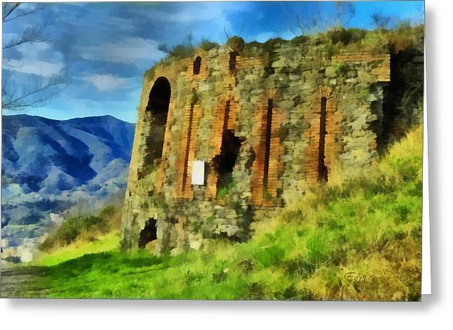 Torre  Granarolo 5497 - By Enrico Pelos Greeting Card