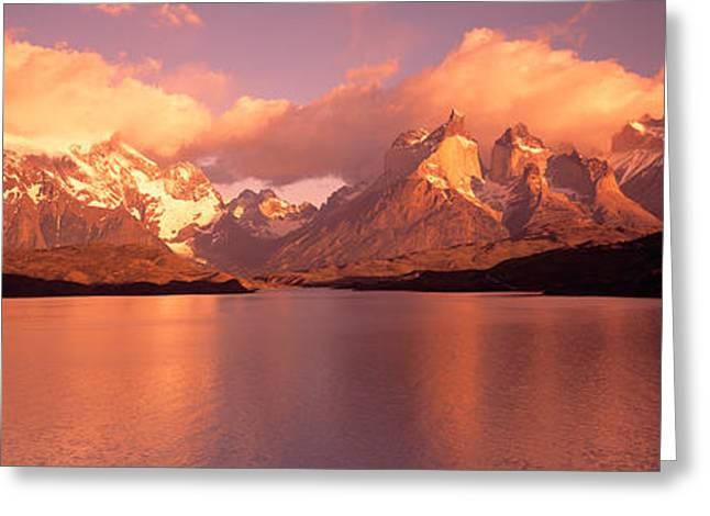 Torres De Paine National Park Chile Greeting Card