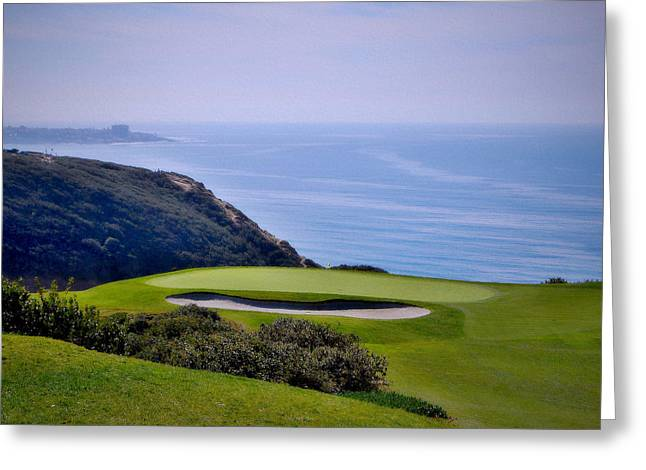 Torrey Pines South No. 3 Greeting Card