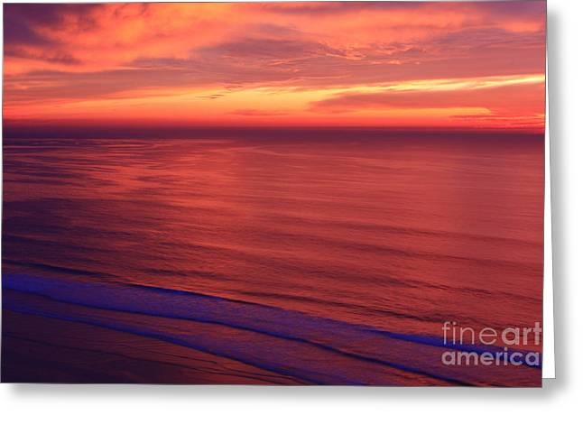 Greeting Card featuring the photograph Torrey Pines Twilight by John F Tsumas