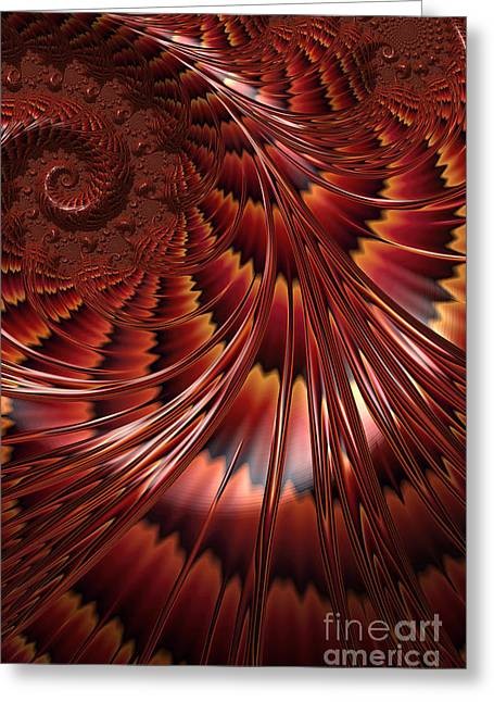 Tortoiseshell Abstract Greeting Card