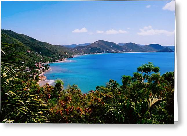 Tortola Bay Greeting Card