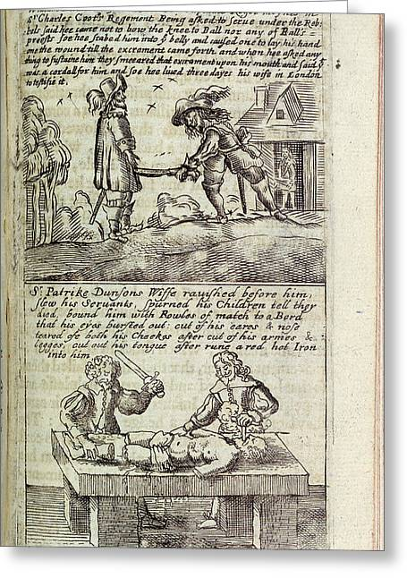 Torture Scenes Greeting Card by British Library