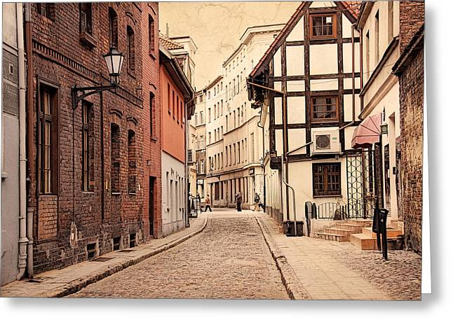 Torun Medieval Town Greeting Card
