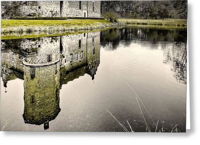 Torup Castle Greeting Card by EXparte SE
