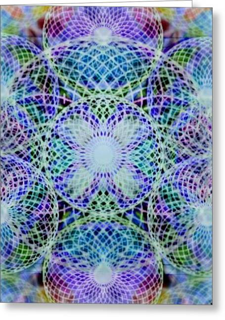 Torusphere Synthesis Interdimensioning Soulin Iv Greeting Card