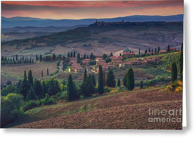 Toscana Greeting Card by Marco Crupi