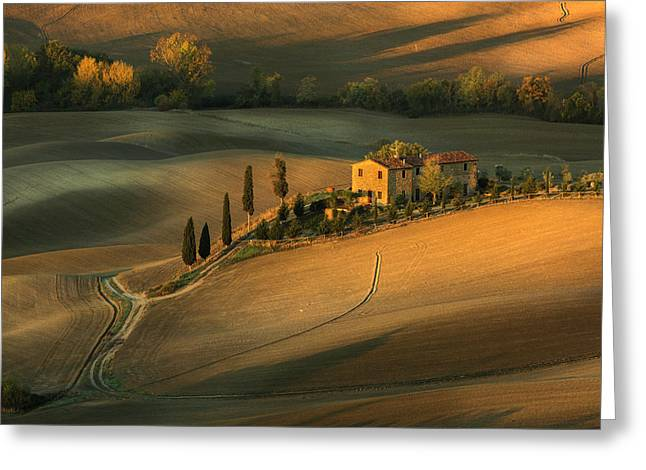 Toscany Greeting Card