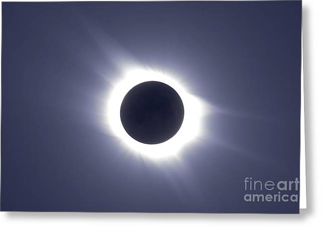 Total Solar Eclipse Greeting Card by Alan Dyer