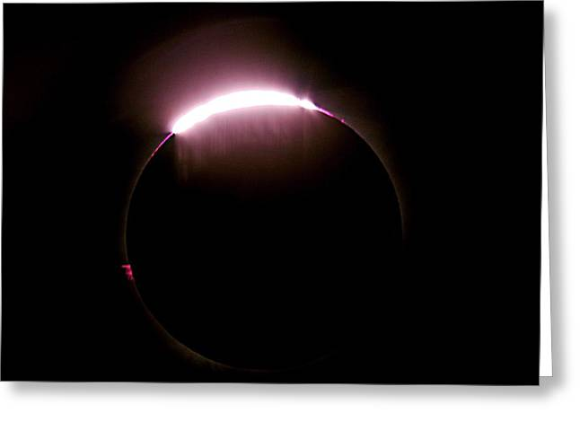Total Solar Eclipse Greeting Card by Don Sabers/rev. Ronald Royer/science Photo Library