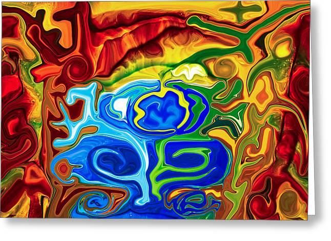 Totem Spirits Greeting Card