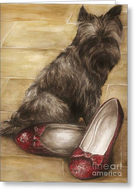 Toto Greeting Card by Meagan  Visser