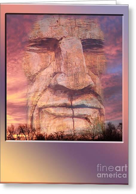Totum Sunrise Greeting Card