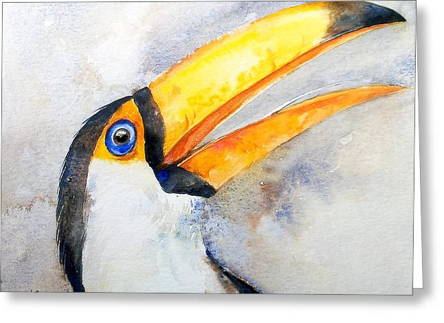 Toucan  Greeting Card by Arti Chauhan