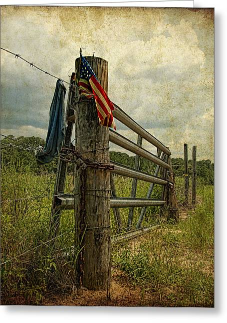 Touch Of Americana Greeting Card