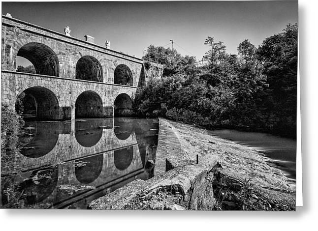 Tounj Bridge Greeting Card by Davorin Mance