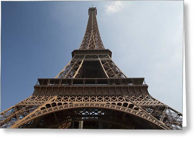 Tour Eiffel 2 Greeting Card by Art Ferrier