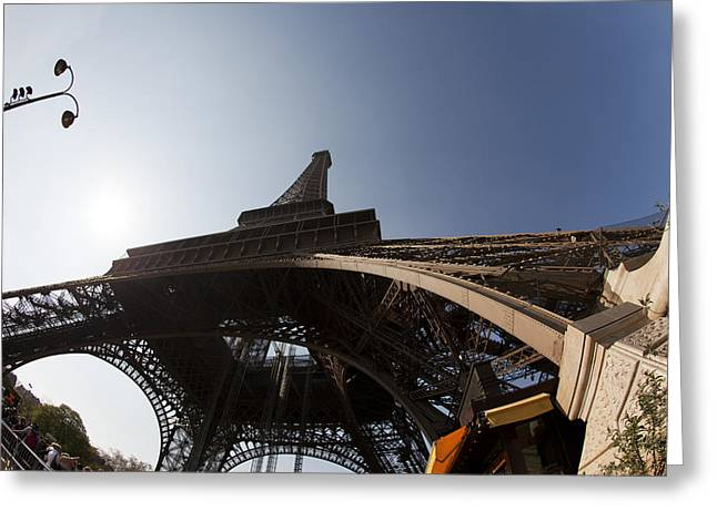 Tour Eiffel 5 Greeting Card by Art Ferrier