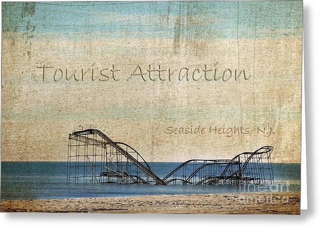 Tourist Attraction Greeting Card by Sami Martin