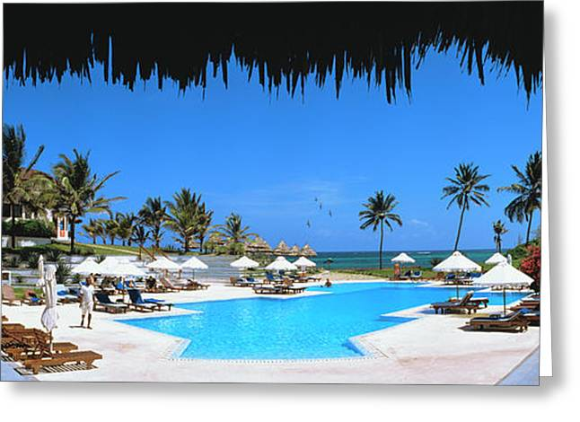 Tourist Resort, Watamu, Kenya Greeting Card by Panoramic Images