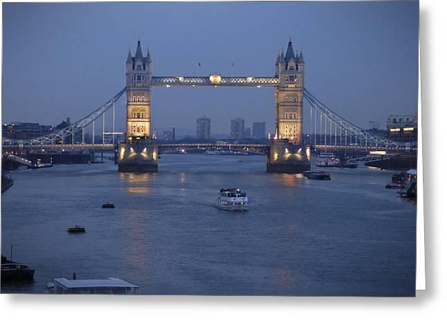 Tower Bridge - England Greeting Card by Mike McGlothlen