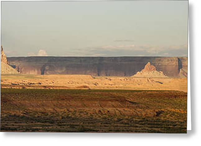 Tower Butte Panorama Greeting Card