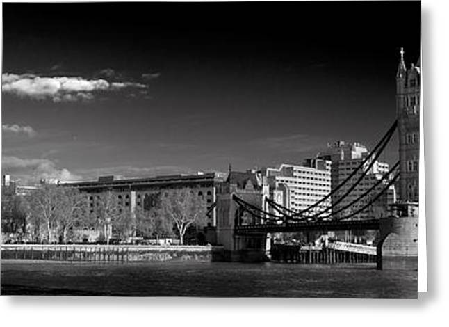 Tower Of London And Tower Bridge Greeting Card by Gary Eason