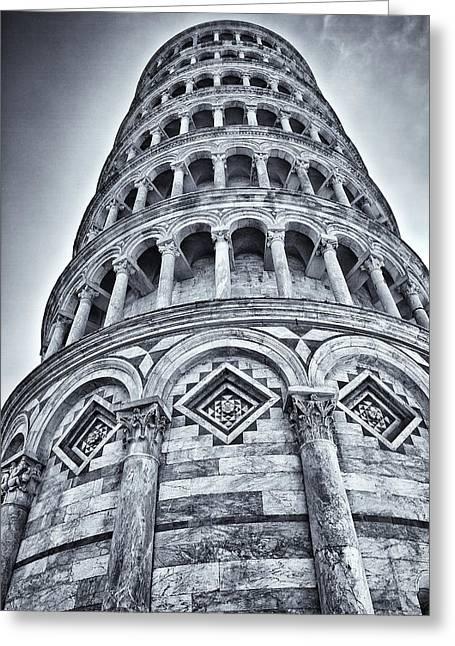 Tower Of Pisa Greeting Card