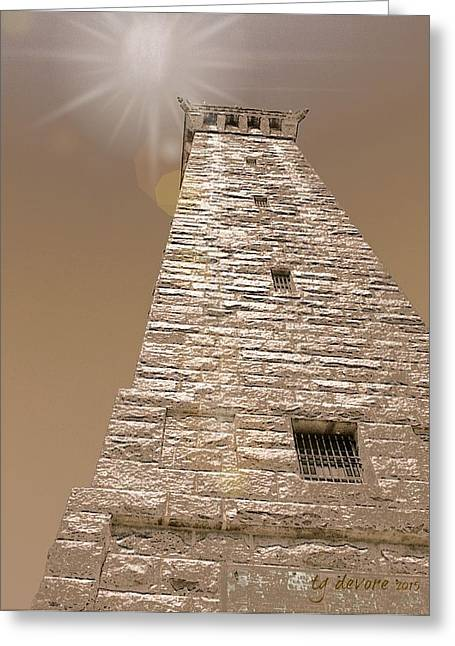 Tower Up Greeting Card