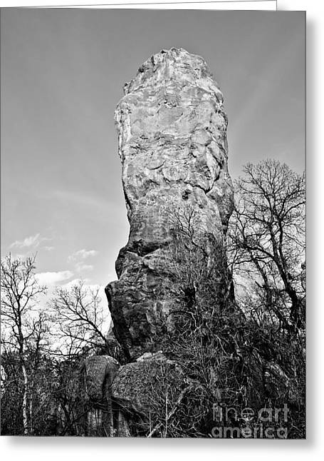 Towering Rock Greeting Card