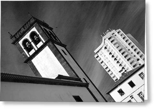 Towers Greeting Card