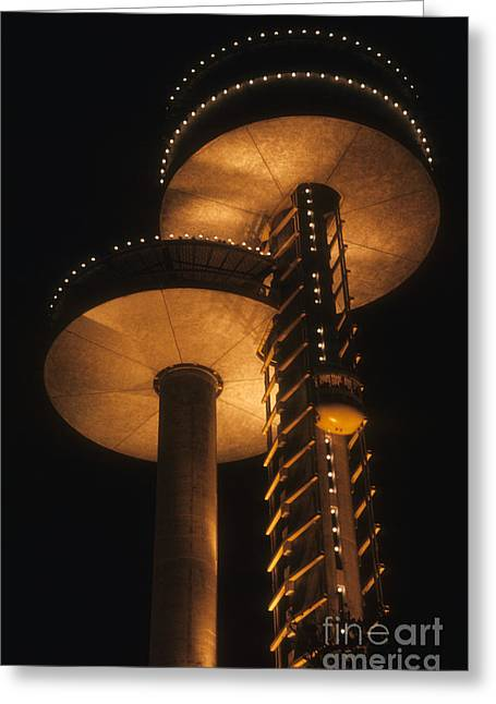 Towers Of Light Greeting Card by ELDavis Photography