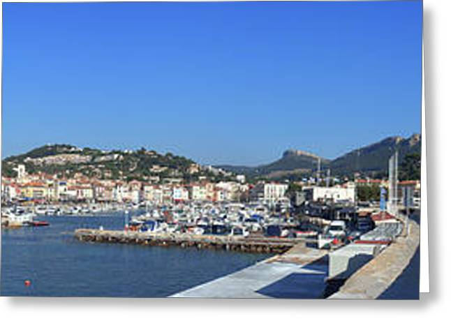 Town And Port, Cassis, Cape Scoundrel Greeting Card