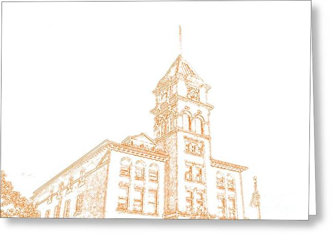 Town Hall Lancaster Ny Greeting Card