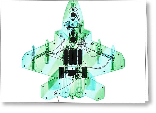 Toy Fighter Plane Greeting Card