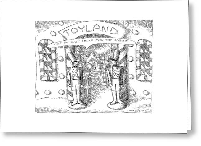Toyland Greeting Card by John O'Brien